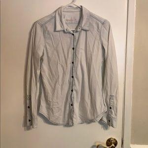 Gap Light Blue Button Down Shirt